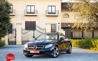 Mercedes E 220D Coupe